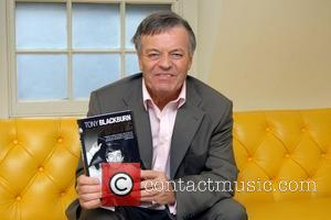 Tony Blackburn promoting his new autobiography 'Poptastic' at Soho House London, England - 10.10.07