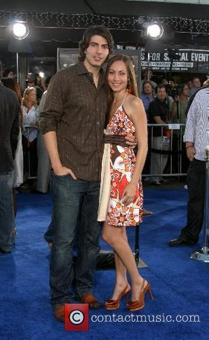 Brandon Routh and fiance Courtney Ford Premiere of 'Transformers' held at the Mann Village Theater  Westwood, California - 27.06.07