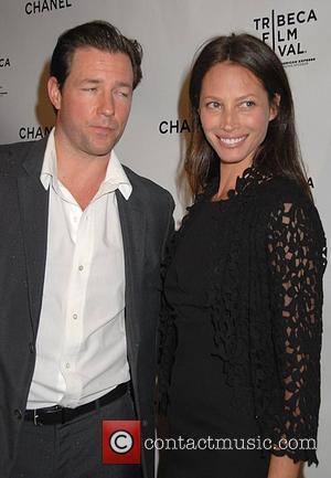 Ed Burns and Christy Turlington 3rd Annual Chanel Dinner Party Honouring the Tribeca Film Festival Artist Program New York City,...