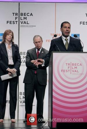 Jane Rosenthal and Mayor Bloomberg