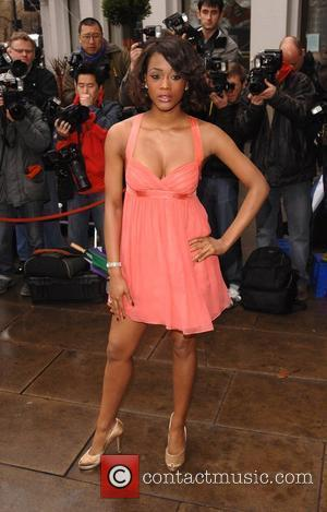 Tiana Benjamin TRIC (Television and Radio Industries Club) Awards held at Grosvenor House - Arrivals London, England - 11.03.08