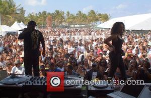 Trina performing during the 4th annual Hooter's Energy Drink Beach Ball Festival  Miami, Florida - 27.04.08