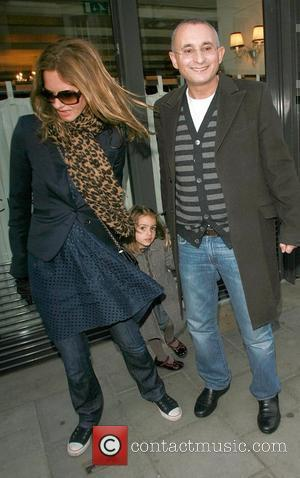 Trinny Woodall and Johnny Elichaoff at Cipriani restaurant  London, England - 27.01.08