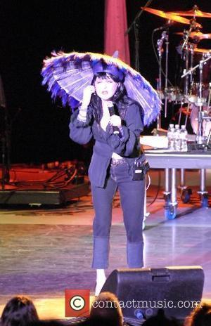 Cyndi Lauper True Colors Tour in support of the Human Rights Campaign at the Greek Theatre Los Angeles, California -...
