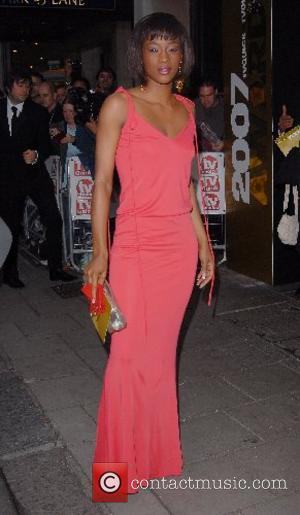 Tiana Benjamin TV Quick & TV Choice Awards at the Dorchester Hotel London, England - 03.09.07