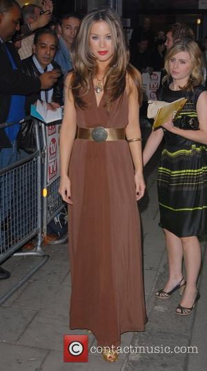 Roxanne McKee TV Quick & TV Choice Awards held at the Dorchester Hotel - Arrivals London, England - 03.09.07