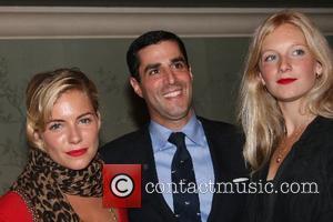 Sienna Miller, Savannah Miller, and guest Party for Sienna & Savannah Miller's Twenty 8 Twelve clothing line at Bergdorf Goodman...