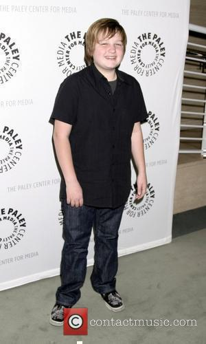 Angus T. Jones 'Two and a Half Men' 100th episode celebration at the Paley Center for Media Beverly Hills, California...