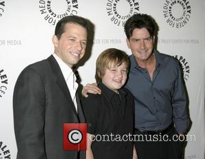 Jon Cryer, Angus T. Jones and Charlie Sheen