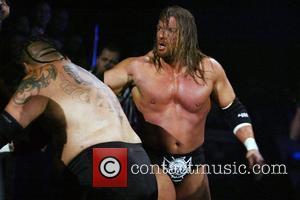 Triple H and Umaga WWE presents Cyber Sunday Live at Verizon Center - Triple H vs Umaga Washington DC, USA...