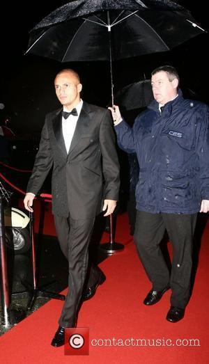 Wes Brown UNICEF Gala dinner held at Old Trafford Football Ground - Arrivals Manchester, England - 28.10.07