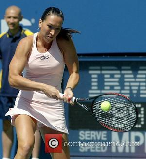 Jelena Jankovic US Open 2007 - Day One at the Billy Jean King Tennis Center in Queens New York City,...