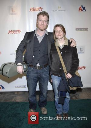 Glen Hansard and Marketa Irglova US-Ireland Alliance Pre-Academy Awards party at The Ebell Club of Los Angeles Los Angeles. California...