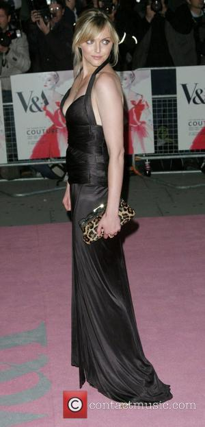 Sophie Dahl 'The Golden Age of Couture' Gala held at the Victoria and Albert Museum London, England - 18.09.07