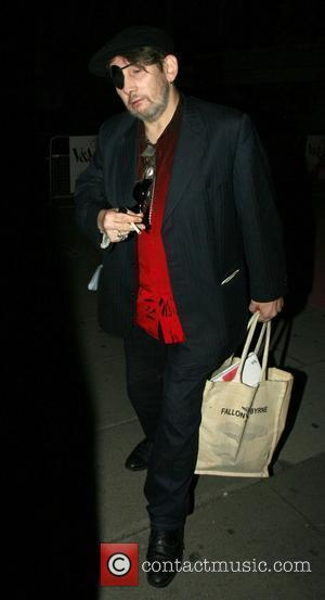Shane McGowan leaving 'The Golden Age of Couture' Gala held at the Victoria and Albert Museum London, England - 18.09.07