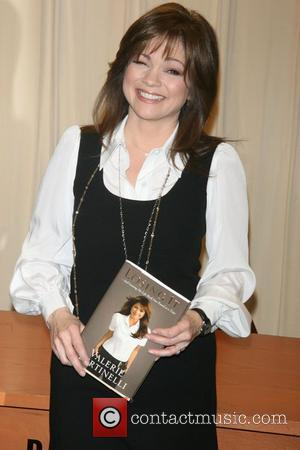 Valerie Bertinelli  signs copies of her new book 'Losing It - And Gaining My Life Back One Pound at...