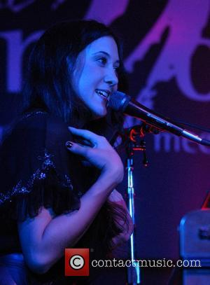 Vanessa Carlton performing live at the Canyon Club inside the 4 Queens Las Vegas, Nevada - 03.11.07