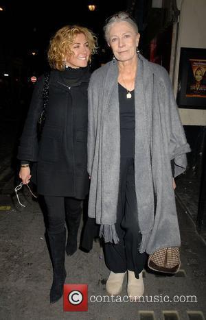 Natasha Richardson and Vanessa Redgrave out walking in Soho London, England - 25.03.08