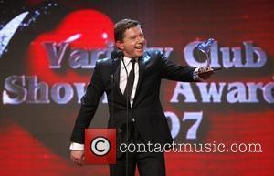 Lee Evans  Variety Club Showbiz Awards, London Hilton Hotel. London, England - 18.11.07