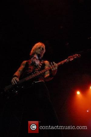 Duff McKagan Velvet Revolver performing at the Cardiff International Arena Cardiff, Wales, 07.06.07