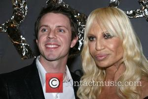 Jake Shears and Donatella Versace Versace Men's Line Launch Party at Barney's New York New York City, USA - 18.03.08