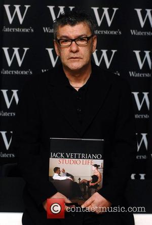 Jack Vettriano  signing his new book 'Studio Life' at Waterstones Piccadilly London, England - 14.03.08