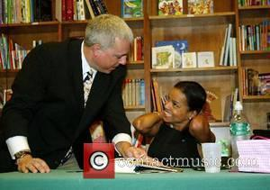 Victoria Rowell signing copies of 'The Woman Who Raised Me', a tribute to the foster women in her life Washington...