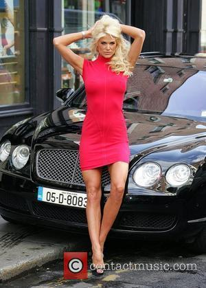 Victoria Silvstedt at the Guess store in St Anne Street for the launch of the fashion house's Autumn/Winter collection...