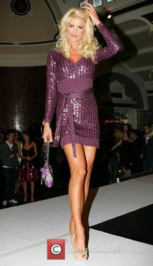 Victoria Silvstedt attending the Guess Fashion Show at the Fire Restaurant Dublin, Ireland - 17.09.07