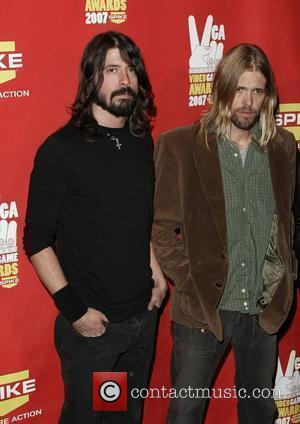 Foo Fighters, Dave Grohl, Taylor Hawkins Spike TV Video Game Awards held at the Mandalay Bay hotel casino  Las...