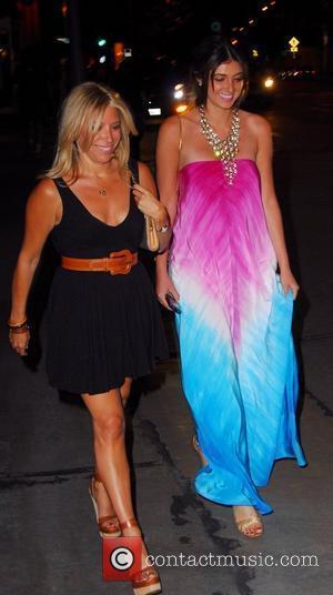 Brittny Gastineau leaving Villa Lounge Nightclub Los Angeles, California - 27.04.08