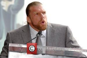 Triple H Vince McMahon honoured with the 2357th Star on the Hollywood Walk Of Fame on Hollywood Boulevard Los Angeles,...