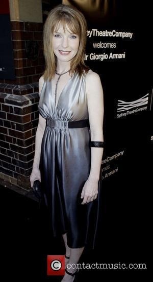 Jacqueline McKenzie The Sydney Theatre Company hosts a VIP dinner to honor Giorgio Armani at the Wharf Restaurant, Pier 4...