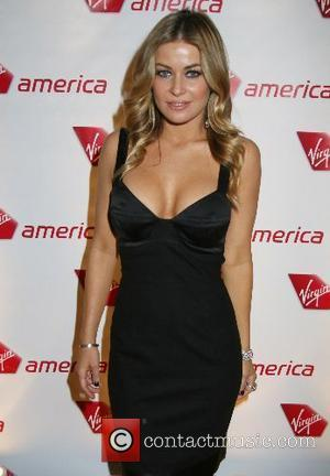 Carmen Electra Virgin America's Sir Richard Branson launches the inaugural flight from San Francisco to Las Vegas at Tryst Nightclub...