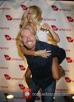 Pamela Anderson, Las Vegas and Richard Branson