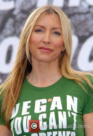 Heather Mills Launch of the Viva! HOT! campaign held at Speakers' Corner in Hyde Park - Photocall London, England -...