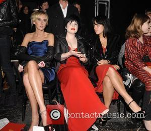 Kimberly Stewart, Kelly Osbourne and Vivienne Westwood