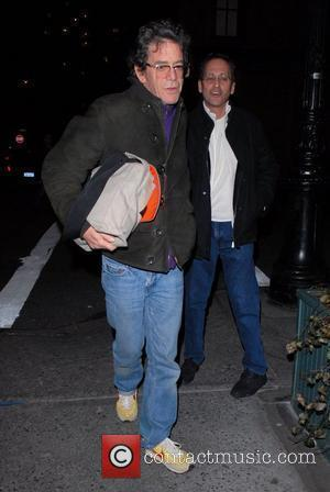 Lou Reed arriving at the Waverly Inn New York City, USA - 09.03.08