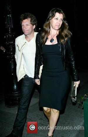 Jon Bon Jovi and his wife Dorothea Hurley outside the Waverly Inn restaurant New York City, USA - 13.05.08