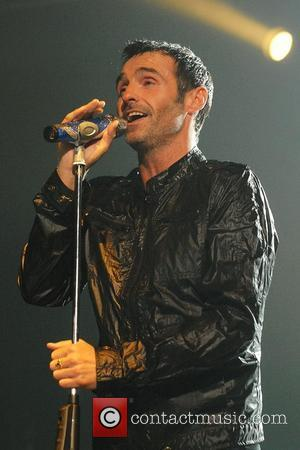 Marti Pellow Wet Wet Wet performing live in concert on their 2007 UK Tour at Wembley Arena London, England -...