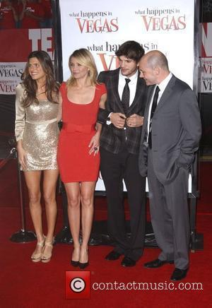 Lake Bell, Cameron Diaz, Ashton Kutcher and Rob Corddry Los Angeles premiere of 'What Happens In Vegas' held at the...