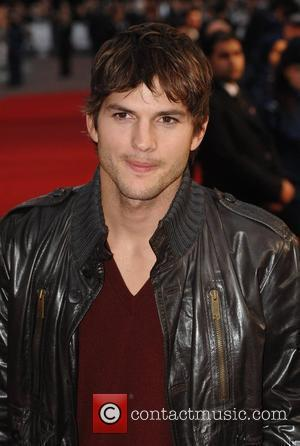 Ashton Kutcher  at the premiere of 'What Happens In Vegas' at Odeon,Leicester Square London,England- 22.04.08