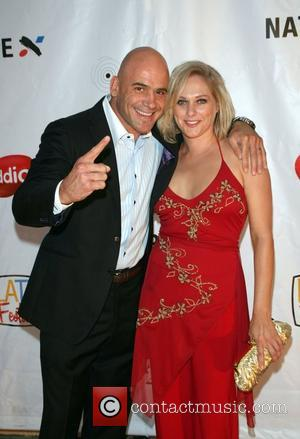 Bas Rutten and Karin Rutten 'When Giants Collide' screening at the Raleigh Studios Hollywood, California - 27.07.07