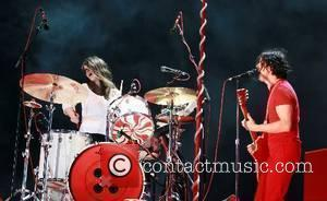 Meg White and Jack White The White Stripes performing live at day 3 of the O2 Wireless Festival Leeds, England...
