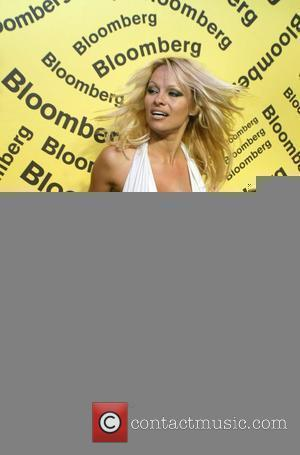 Pamela Anderson Bloomberg after party for the White House Correspondents' Association Dinner at the Costa Rican Embassy - arrivals Washington...