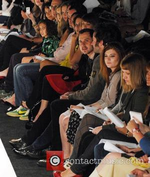 Giovanni Ribisi, Jason Lee Mercedes-Benz Autumn 2008 LA Fashion Week - Whitley Kros Show - Front Row Culver City, California...