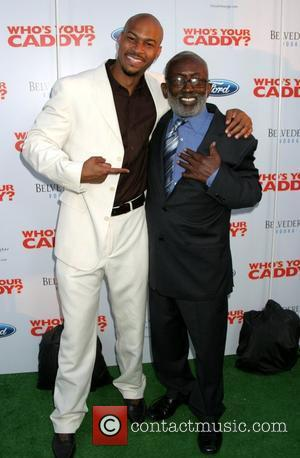 Finese Mitchell and Garrett Morris 'Who's Your Caddy!' Premiere held at the Arclight Cineramadome - Arrivals Hollywood, California - 23.07.07