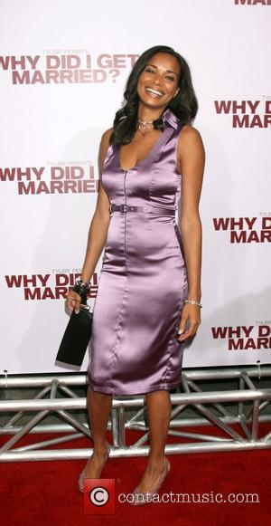 Rochelle Aytes World film premiere of 'Why Did I Get Married?' held at Arclight Theatre - Arrivals Los Angeles, California...