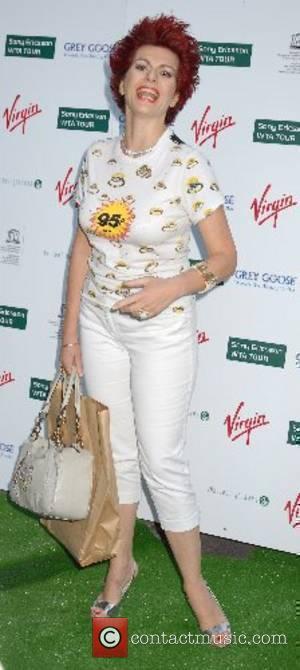 Cleo Rocos Wimbledon Pre-Party at Kensington Roof Gardens - Arrivals London, England - 21.06.07