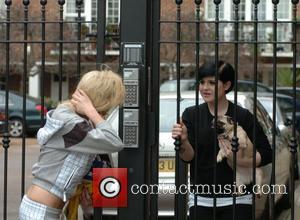 Amy Winehouse and Kelly Osbourne
